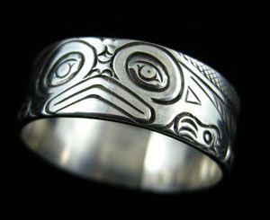 Frog Band Ring