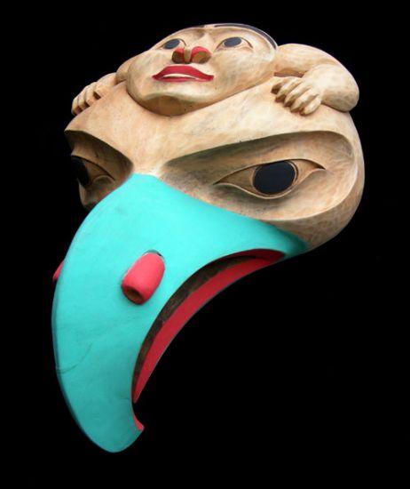 Thunderbird with Man Mask