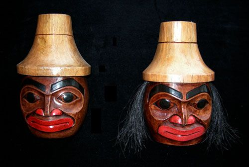 Haida Man Mask