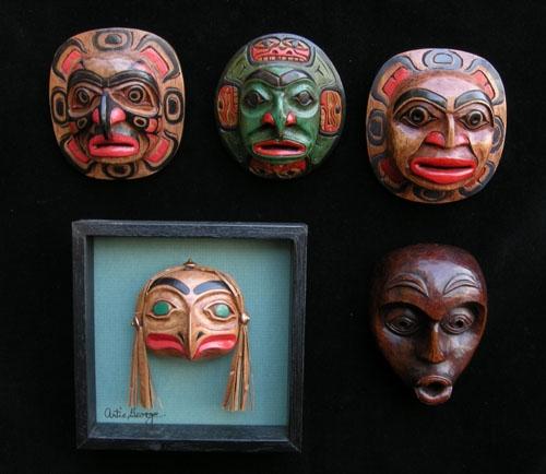 Extra Detailed Miniature Masks