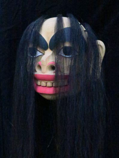 Gagiit Mask with Horse Hair -