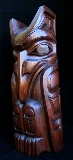 Raven Pole - Natural Finish