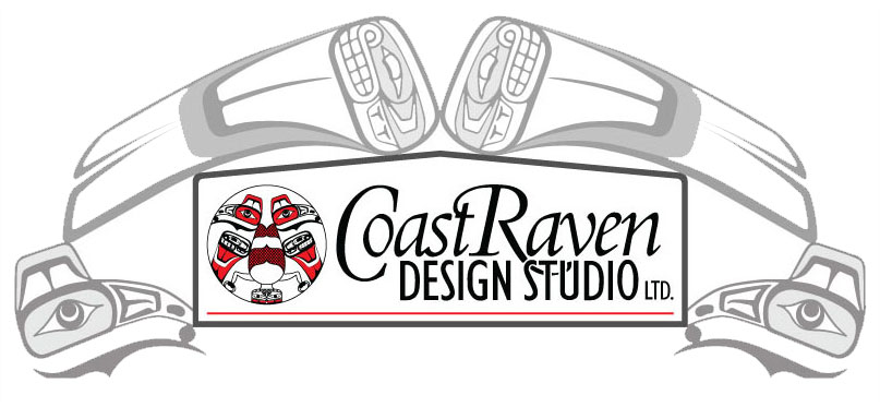 Coast Raven Native Art