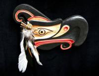 Thunderbird (Painted with Feather) -