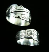 Hummingbird Wrap Adjustable Style Ring