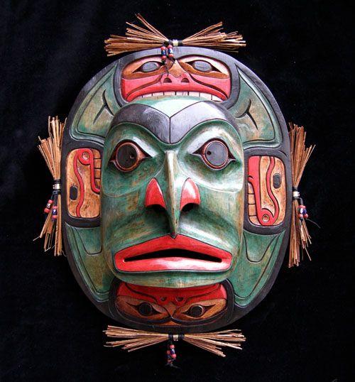 Moon Mask (Four Seasons in Detail)
