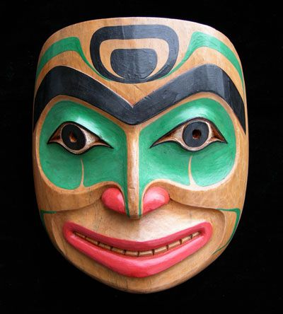 Smiling Warrior Mask
