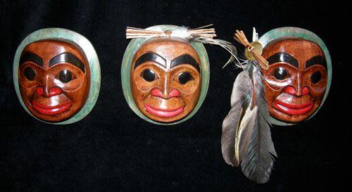 Smiling Moon Mask