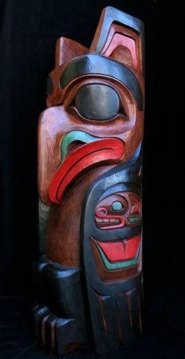Eagle Pole - Painted Finish